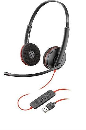BLACKWIRE,C3220 USB-A,SINGLE UNIT
