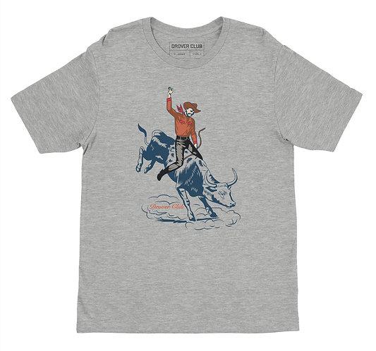 Cowboy on Bull Organic Cotton T-shirt