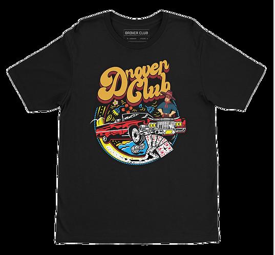 Retro Drover Organic Cotton T-shirt
