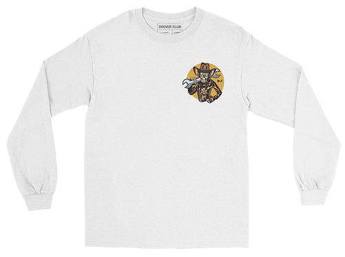 Leather Biker Organic Cotton Ls T-shirt