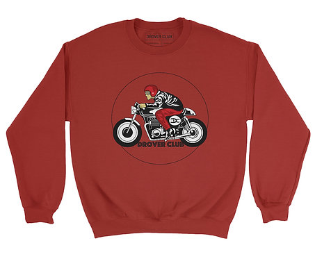 Drover Rider Organic Cotton Crewneck