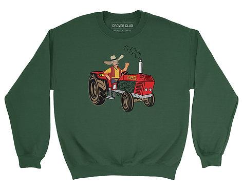 Drover Tractor Organic Cotton Crewneck
