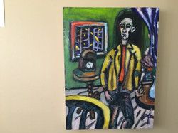 Man with Cezanne's Clock