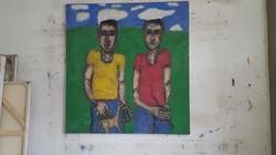 Double portrait of Jesse