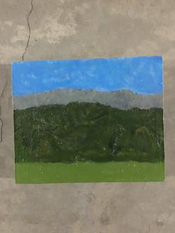The Sierras, flattened