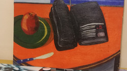 Still Life After an Early Soutine