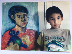 Jesse with Portrait