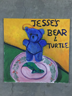 Jesse's Bear & Turtle, Still Life