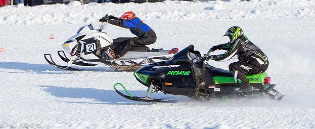 Alberta Beach Snow Mobiling