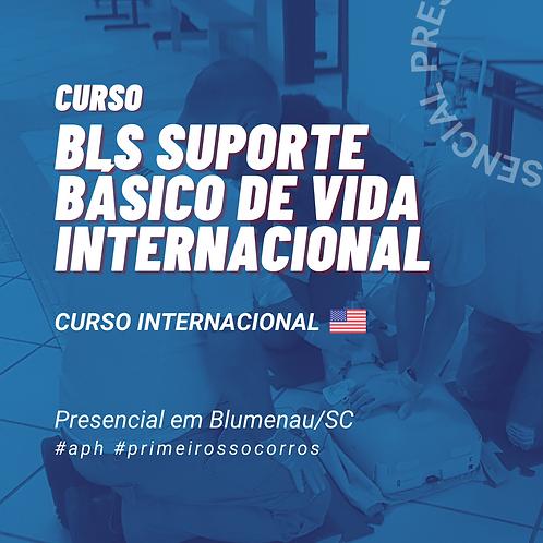 Curso de BLS - Suporte Básico de Vida Internacional