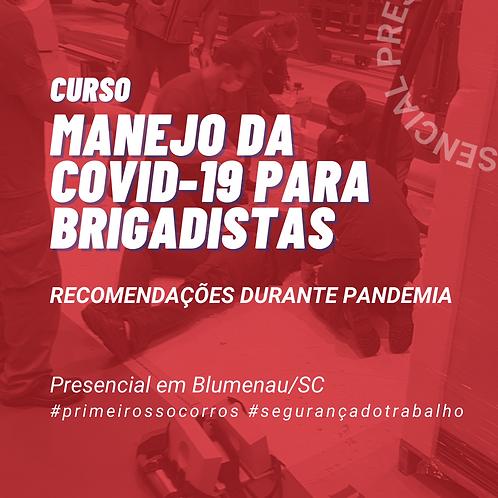 Manejo da COVID-19 para Brigadistas