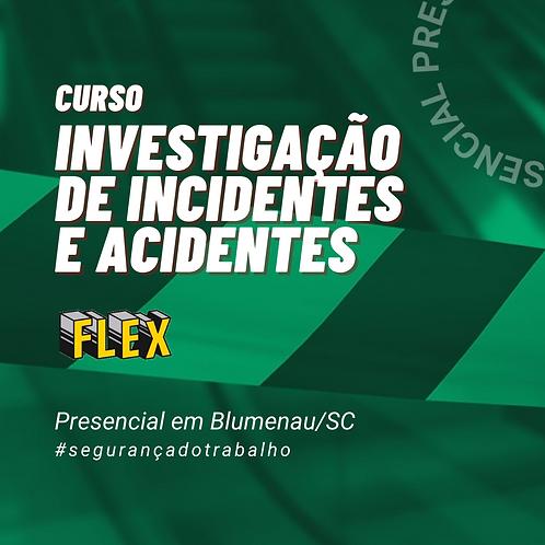 Investigação de incidentes e acidentes de trabalho