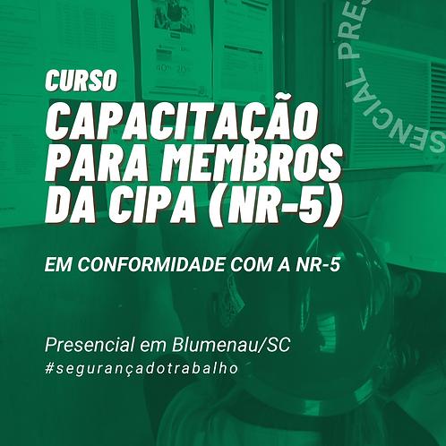 NR-05 Capacitação para Designado e Membros da CIPA