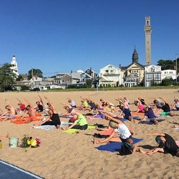 Ptown Beach Yoga