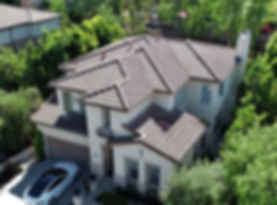 Drone roof inspection cost in Orange County