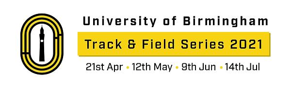 University of Birmingham Track and Field Series 2021 logo