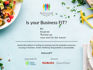 Admiral Recruitment invites hospitality operators to get FIT for the future
