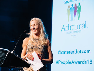 Admiral Recruitment sponsors the Caterer.com People Awards
