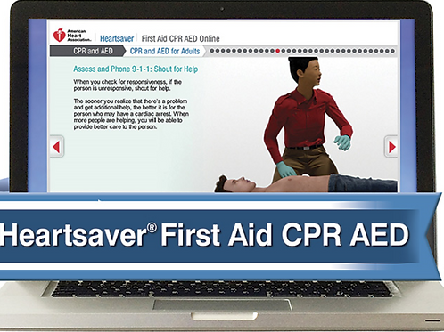 Heartsaver ® First Aid CPR AED Online