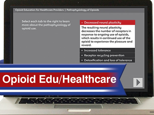Opioid Education for Healthcare Provider