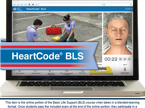 HeartCode® Basic Life Support (BLS)