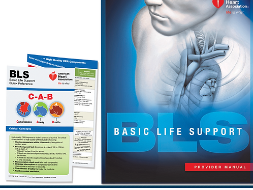 Basic Life Support (BLS) Textbook for Health Care Providers
