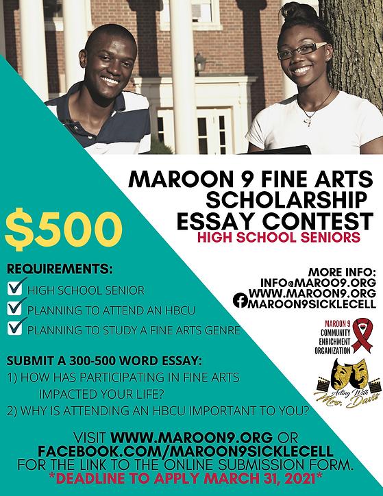 Fine Arts Scholarship Contest.png