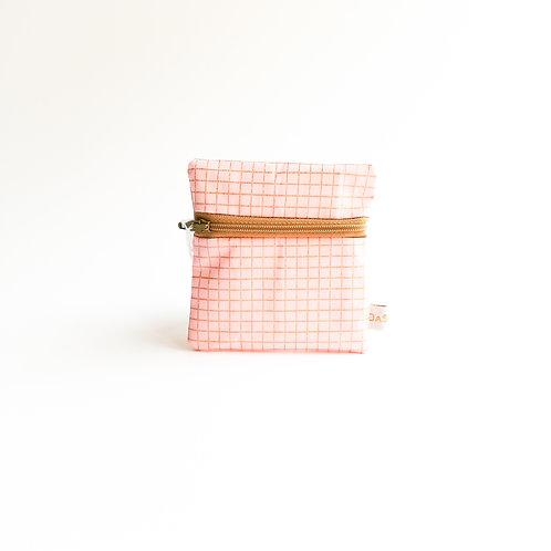 Enkel roze ruitjes