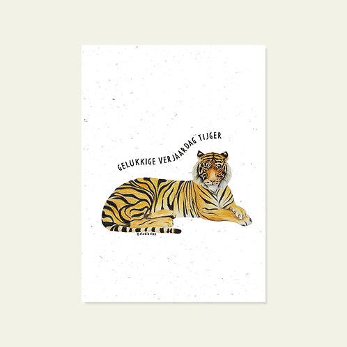 Gelukkige verjaardag, tijger
