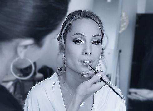 wedding makeup, maquillage mariage, mont