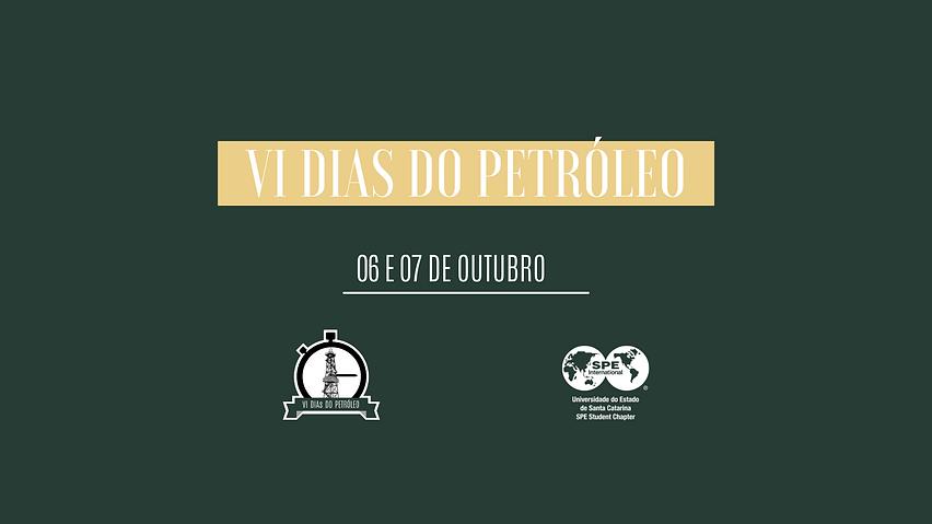 VI DIAS DO PETRÓLEO