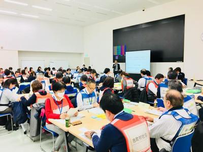 第1回災害ボランティアによる救援活動のための図上訓練