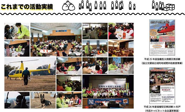 東日本大震災の経験と教訓を活かし首都圏災害に備えるためのNPOと行政のICS防災訓練「協働型災害訓練」