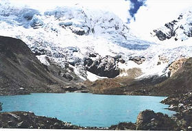 Photo of Lake Palcacocha