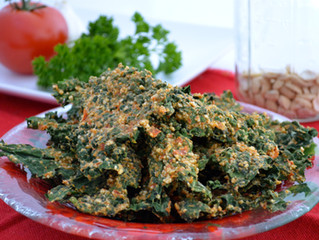 Southwest Kale Chips