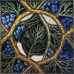 """Juniper Wreath"""