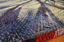 """""""Blanketed Landscape"""" detail"""