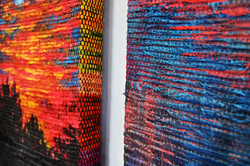 """""""Sailor's Warning Diptych"""" detail"""