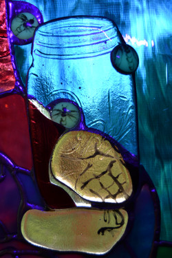 """""""Lucy"""" detail of Ball jar"""