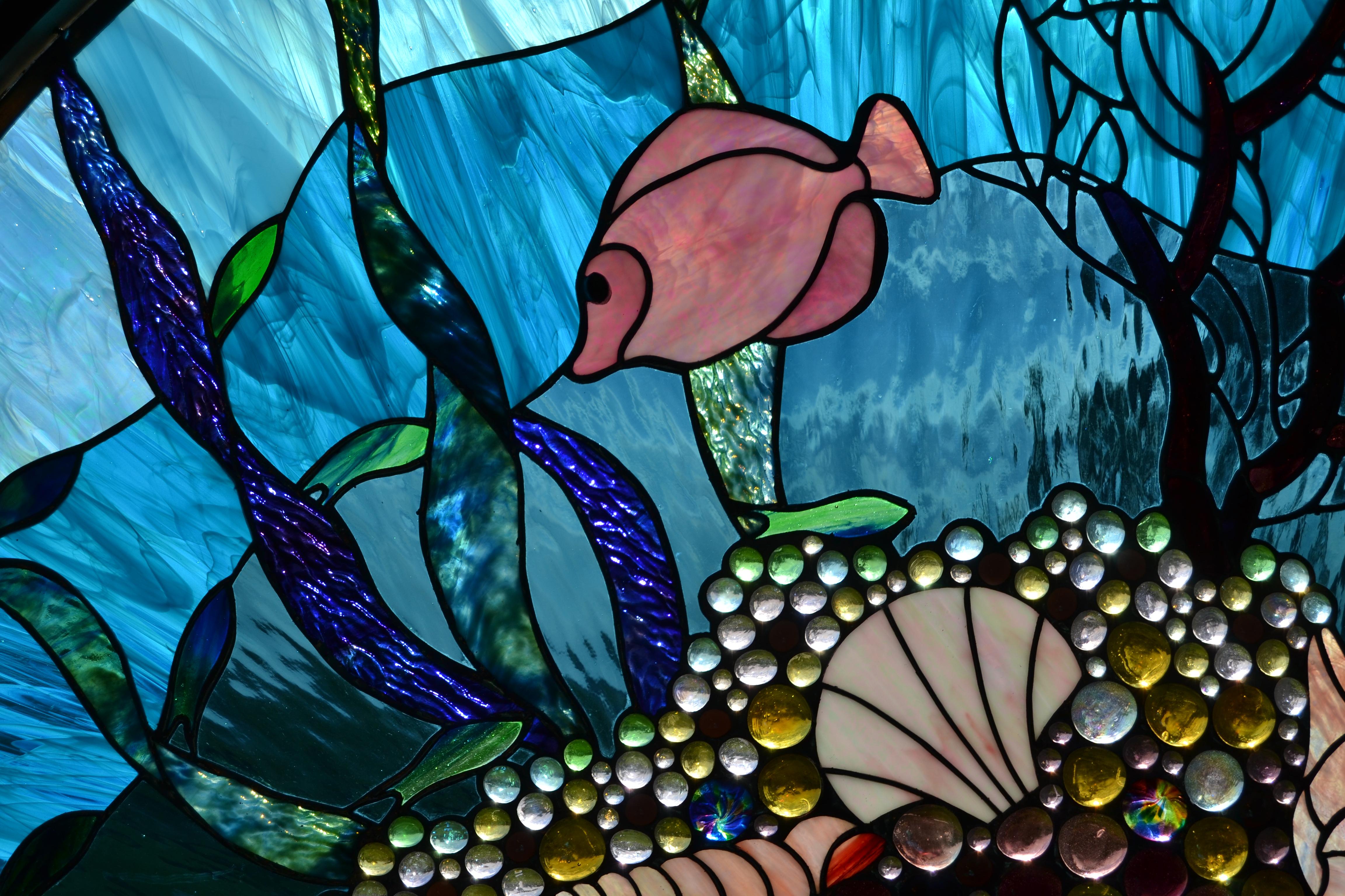 """""""Coral Reef"""" detail"""