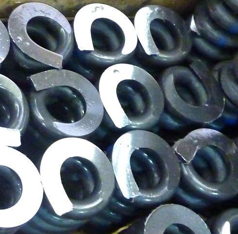 Large coil springs