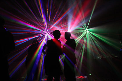 Dance Lighting - The Wedding DJ Company