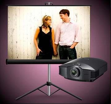 Projection System - The Wedding DJ Company