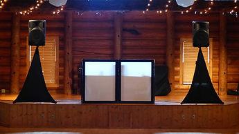 Speaker setup - The Wedding DJ Company
