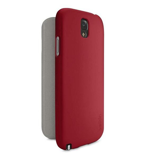 Belkin Micra Folio Case For Galaxy Note 3 In Rose Red
