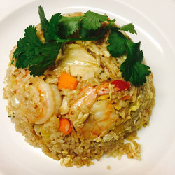 Prawn & Chicken Fried Rice