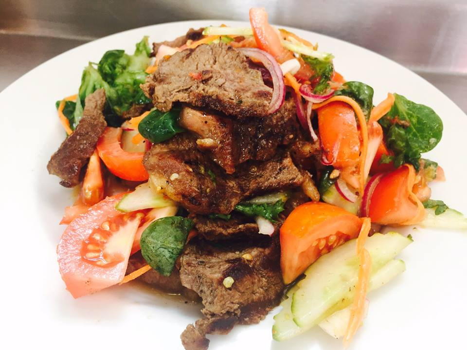 Sirloin Steak Salad