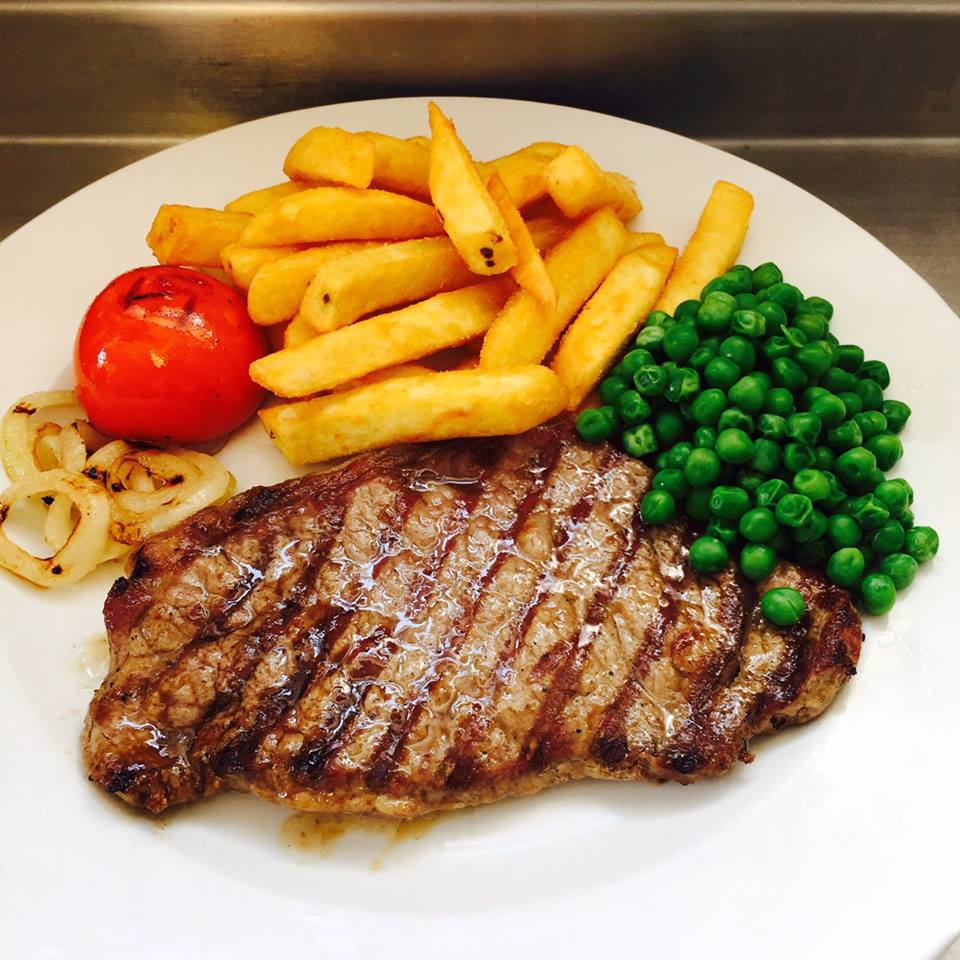 Sirloin Steak & Chips