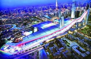 Work begins on Dubai mall
