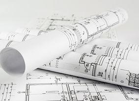 Plan d'ingénieur du système septique
